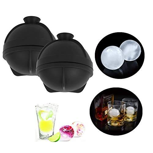 Velaurs Ice Grid Moulds, Ice Ball Maker, Ice Mould, Antihaft für Cocktails EIS am Stiel Eiskaffee Getränke