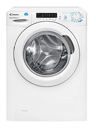 Candy CSS 1282D3-S lavatrice Libera installazione Caricamento frontale Bianco 8 kg 1200 Giri/min A+++
