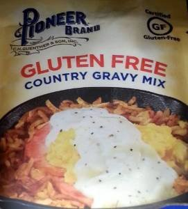 Pioneer Brand Gluten Free Country Gravy Mix 2.75 Oz (Pack of 3)