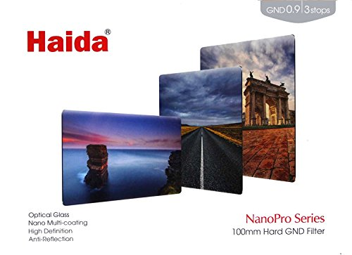 Haida NanoPro MC Optical Hard GND 0.9 / 3 Stop Verlaufsfilter 150 x 100 mm