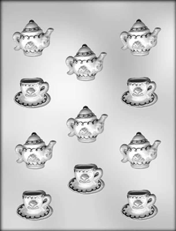 CK Products Cup Saucer And Teapot Chocolate Mold