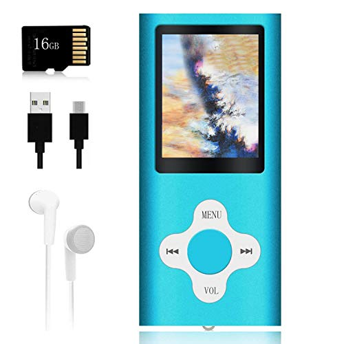 Mp3 Player, Music Player with a 16 GB Memory Card