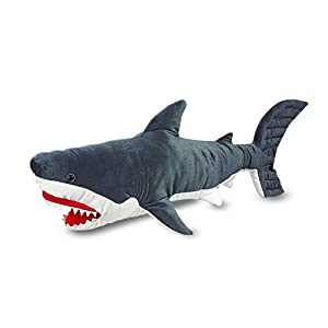 Giant Shark Plush