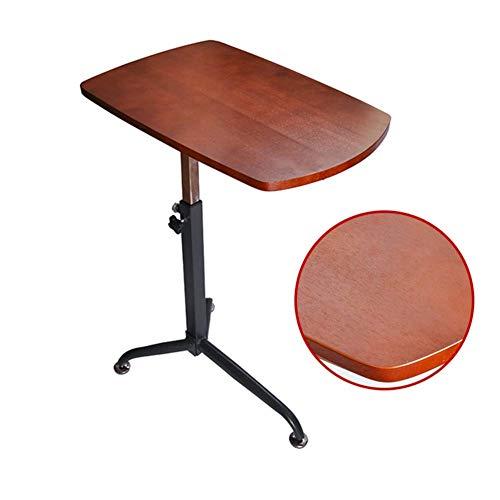 Leven kantoor/eenvoudige opbergtafel laptop standaard voor bureau multifunctionele sofa bijzettafel kantoor studie tafel plank, hoog 67 91,5 cm instelbaar, 4 kleuren (kleur: B, grootte: 62 x 38 cm)