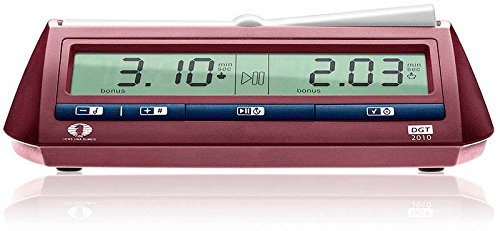 The DGT 2010 Digital Chess Clock Timer by DGT Projects [Toy] (English Manual)