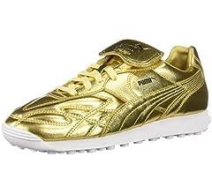PUMA Men's King Avanti Sneaker, Gold