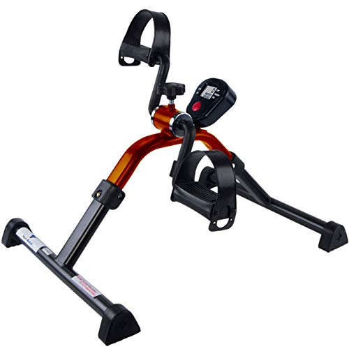 Medical Folding Pedal Leg & Arm Exerciser with Electronic Display