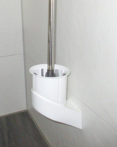 Borstenlose WC Bürste Antibakteriell Wandmontage Klobürste Silikonfrei Gummi