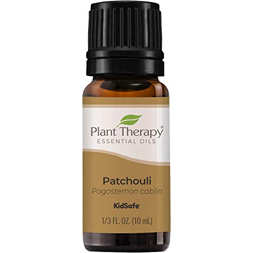 Plant Therapy Patchouli Essential Oil 100% Pure, Undiluted, Natural Aromatherapy, Therapeutic Grade 10 mL (1/3 oz)