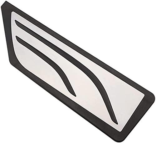 HZHAOWEIPedales de Coche para BMW X1 F48 2015-2019 2-Series Touring 218i 220i 220d 225xe AT LHD Pedal de reposapiés del Acelerador Accesorios de Almohadilla-Pedal de Reposo de 1 Pieza