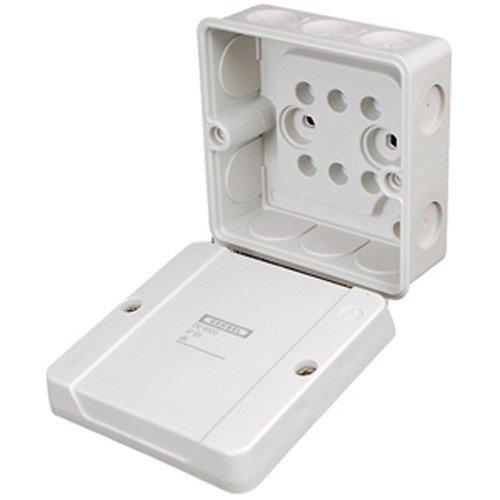 Hensel 1025294 kabelaftakdoos DE 9320 lege doos, behuizing voor montage op de muur/plafond 4012591600435