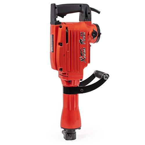 XtremepowerUS 2200Watt Heavy Duty Electric Demolition Jack hammer Concrete Breaker W/Case, Gloves