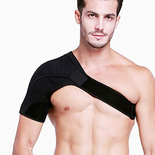 Right Shoulder Brace for Men,Torn Rotator Cuff Support Women Shoulder Stabilizer Brace for Shoulder Pain Relief