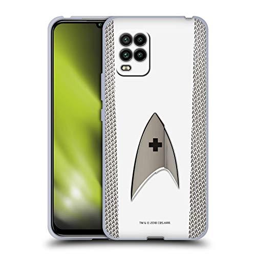 Head Case Designs Oficial Star Trek Discovery Médica Uniformes Carcasa de Gel de Silicona Compatible con Xiaomi Mi 10 Lite 5G