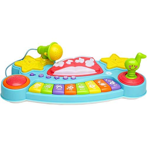 Globo Toys 12 981,9 cm Vitamina _ G Essaye-Moi Nickelodeon Speak Italien avec lumière/Son Micro intégré et Jouet