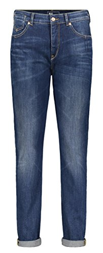 Mac dames jeans girlfriend donkerblauw (83) 36