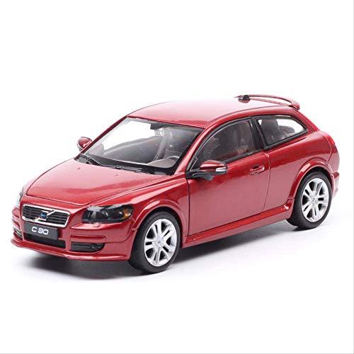 Welly Big Volvo C30 Schrägheck Sport Coupe Diecasts & Spielzeug Fahrzeuge Metall Auto Spielzeug Modell Miniatur...