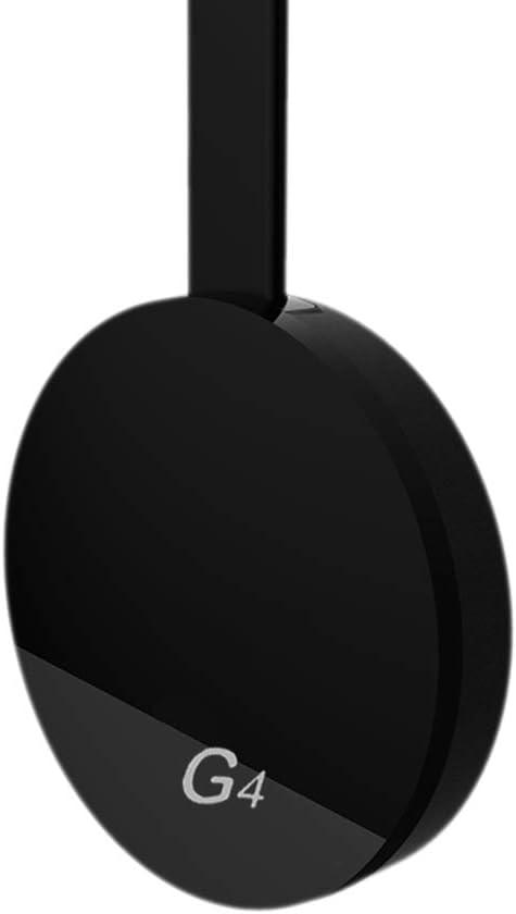 for Google Chromecast 2/3/2018 Android Netflix YouTube Cromecast Miracast WiFi HDMI Dongle Receiver Mirascreen G4 Media Streamer Black