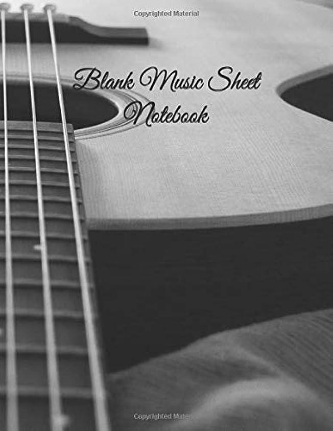 しないでください集めるヘビーBlank Music Sheet Notebook: Music Manuscript Paper / Staff Paper / Musician Notebook (Music Composition Book) 12 Staves, 8.5