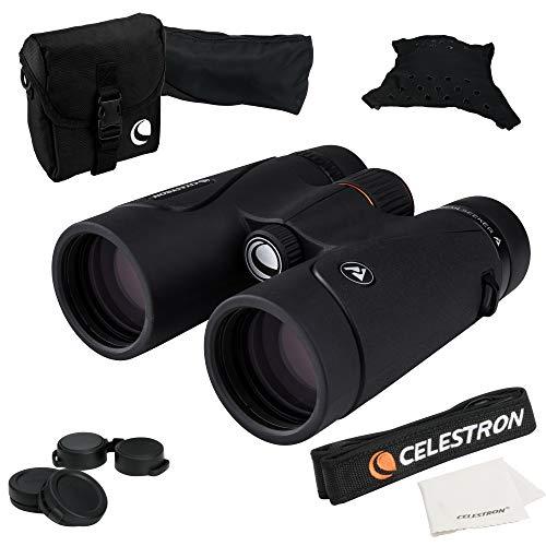 Celestron 71404 TrailSeeker 8x42 BaK-4 Prism Binoculars, Black