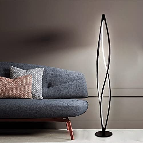 Lámpara de pie para sala de estar Nordic ITALY INS Creativo Modelo vertical Casa Sala de estar Moderno Minimalista Arte Nueva Lámpara de pie (Color : H120cm Dimming)