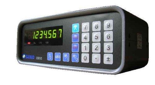 SINO Digitalanzeige für Werkzeugmaschinen mit geschaltetem Ausgang / Zur Darstellung von einer Achse / Typ SDS3-1E