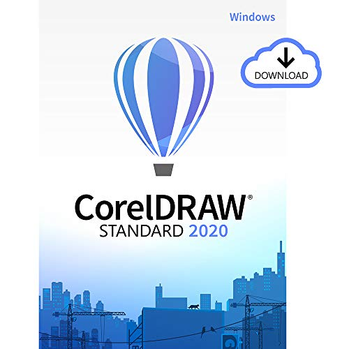 Price comparison product image CorelDRAW Standard 2020 / Graphic Design,  Illustration,  Page Layout and Photo Enhancing Software [PC Download]