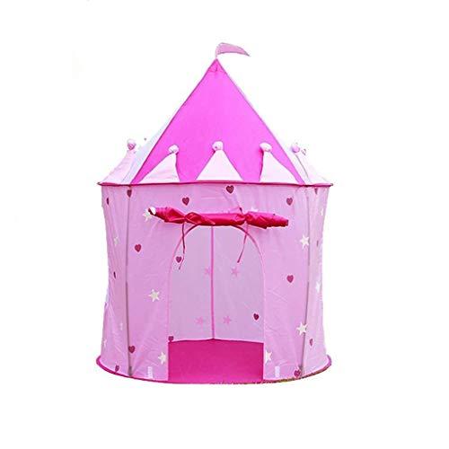 MXueei parc d'enfant ZfgG Enfants Tente intérieure Princesse Fille clôture Piscine à balles Pliant Jeu Maison château Indien Tente bébé Jouet (Color : Princess)