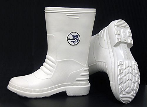Marlin White Boots Size: 10
