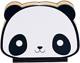 Panda LED Nightlight,NIUJNE USB Rechargeable dable Wooden Book Shape Desk Lamp Nightlight for Home Decor Children Baby Bedroom Color Night Lamp,Best Gift for Kids (Panda Style)