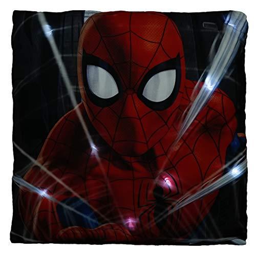 Spiderman led Referencia KD Cojines Textiles del hogar Unisex Adulto, Multicolor (Multicolor), única