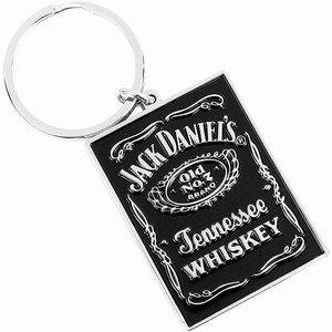Llavero de etiqueta negra de Jack Daniel