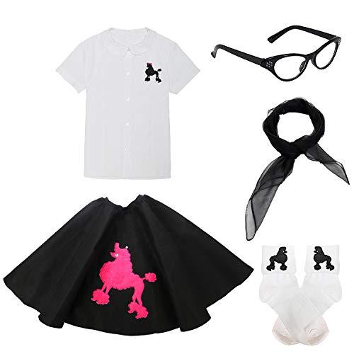 "Sock Hop Poodle Skirt Costume Party Accessory 1950s 2.5/"" Toddler Cinch Belt"