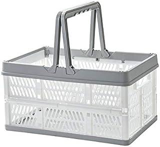 ECSWP Portatile Pieghevole Basket archiviazione Portatile Spuntino Bagagli Cestino di Picnic Grocery Shopping Bagagli Carr...