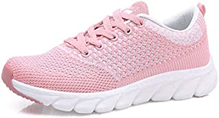 FYXKGLa Women's Shoes Casual Wild Sports Shoes Outdoor Women's Running Shoes with Running Shoes Women (Color : Pink, Size : 36EU)