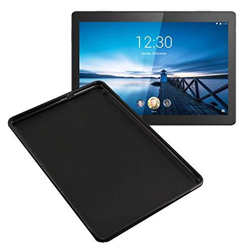 Lobwerk Schutzhülle für Lenovo Tab P10 TB-X705F 10.1 Zoll Silikon Hülle Slim Hülle Ultra Dünn Schwarz
