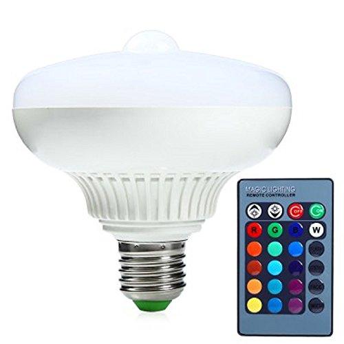 12W 1200lm 85–265V, 120Degree blanco frío E275630SMD 12LED Sensor de movimiento infrarrojo Pir Led bombilla lámpara