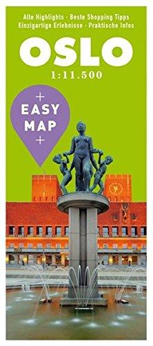 EASY MAP Oslo: 1:11.500 (KUNTH EASY MAP / Reisekarten)