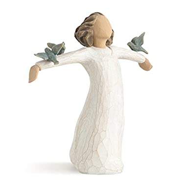 Willow Tree hand-painted sculpted figure, Happiness (26130)