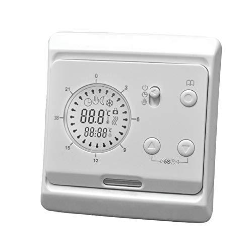 E62 digitale kamerthermostaat voor elektrische vloerverwarming met sensoren