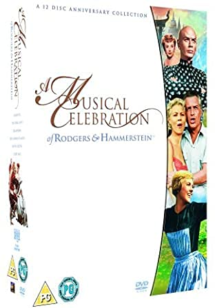 Rodgers And Hammerstein : A Musical Celebration - 12-DVD Boxset ( Carousel / South Pacific / Oklahoma! / The Sound of Music / The King and I / State Fair ) [ UK Import ]
