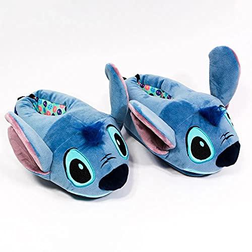 Pantufa Stitch 3D, Oficial Disney, Solado De Borracha (M (36/37/38))