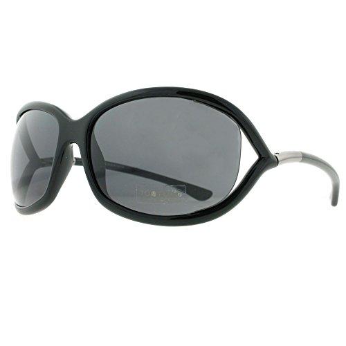Tom Ford Jennifer Black Sunglasses TF0008-199