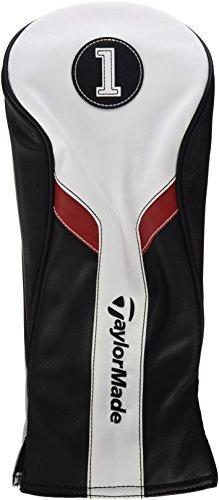 TaylorMade b1587401Schutzhülle für Golf-Driver, Herren, Schwarz/Weiß/Rot, Einheitsgröße
