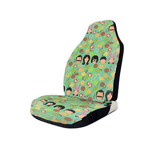 SineRich Bob-Burgers Car Seat Cover, Car Interior Car Seat Cover for Most Cars, Cars, SUVs, Vans 1 PCS