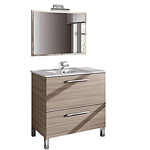 Conjunto de Baño con Lavado + Espejo + Lavabo. Grifo Incluido y...