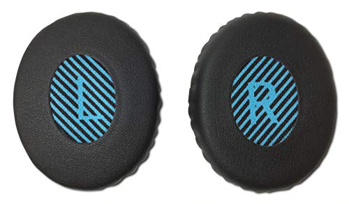 Aminori - Replacement Earpads Ear Cushion for Bose Quiet Comfort 3, Soundlink On-Ear, QC3, OE, OE2 (Black)