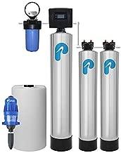 Iron/Manganese Whole House Water Filter & Salt-Free Softener (1-3 Bathrooms)