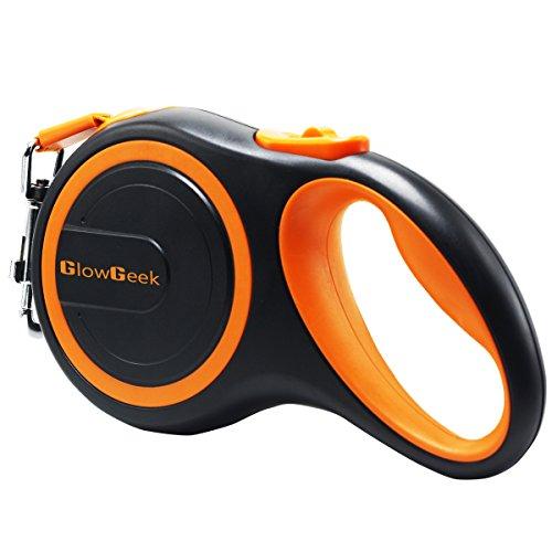 GlowGeek Retractable Dog Leash