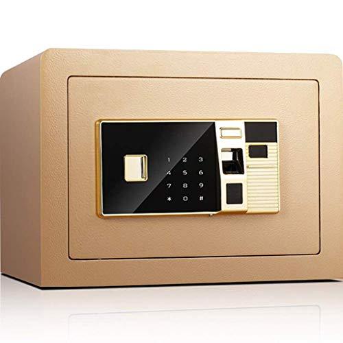 XiYou Caja Fuerte de Seguridad, Caja Fuerte electrónica de Seguridad Digital, Caja Fuerte biométrica para Huellas Dactilares, para Oficina, Hotel, joyería, Pistola, medicamentos en Efectivo, Oro